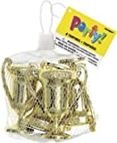 Mini Gold Coloured Trophies, net of 4