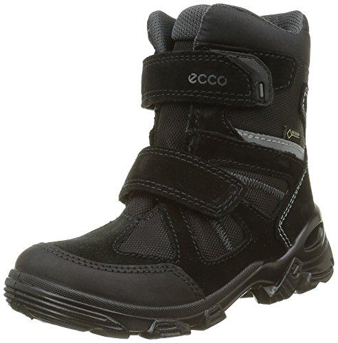Ecco Snowboarde, Stivali da Neve Bambino, Nero (Black/BLACK51052), 35 EU