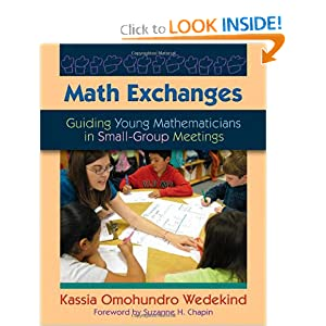 Math Exchanges: Guiding Young Mathematicians in Small Group Meetings