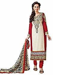 Ashika New Indian Traditional Salwar Suit Dupatta (Unstitched) Dress Material (8551)