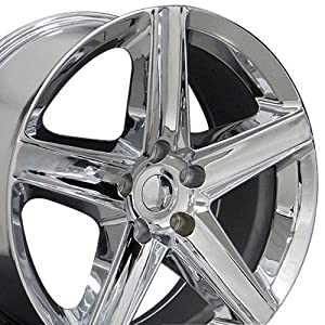 20 inch fits jeep grand cherokee aftermarket wheels chrome 20x9 set of 4. Black Bedroom Furniture Sets. Home Design Ideas