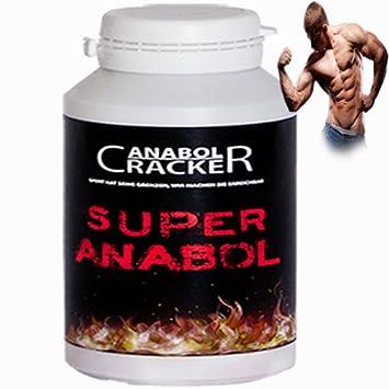 Super Anabol, Muskelaufbau Anabolika, 100 Kapseln Energy, Testosteron Booster