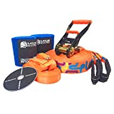 Slackline Industries Play Line Slackline Complete Kit, 50'