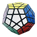 Shengshou Megaminx Brain Teaser Magic Cube Speed Twisty Puzzle Toy, Black