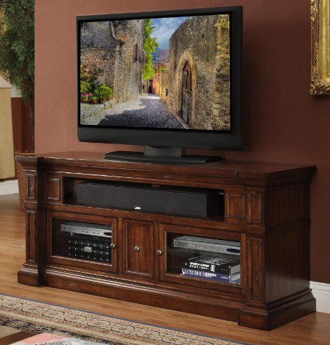 Legends Berkshire 62 in. Media Console - Old World Umber image