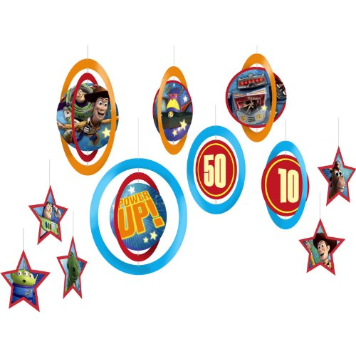 Toy Story Game Time Danglers (Set Of 8)