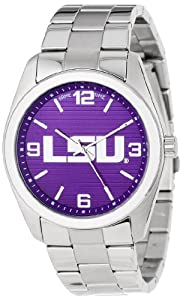 Game Time Unisex COL-ELI-LSU Elite Louisiana State University 3-Hand Analog Watch by Game Time