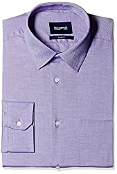 Blackberrys Men's Formal Shirt (8907196532679_MSDOC34PUEN11BPQ_44_Radiant Purple)