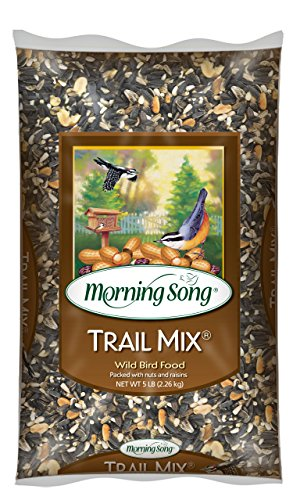 Morning Song 12004 Trail Mix Wild Bird Food, 5-Pound (Morning Song Sunflower Seeds compare prices)