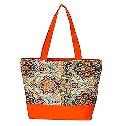 Waanii Women's Handbag (Orange,Wni911)