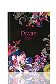 Glossy Floral A5 Day Per Page 2014 Diary[T21-3515A-S]