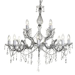 Litecraft polished chrome marie antoinette 12 light crystal youre want to buy litecraft polished chrome marie antoinette 12 light crystal chandelieryes you comes at the right place you can get special aloadofball Image collections