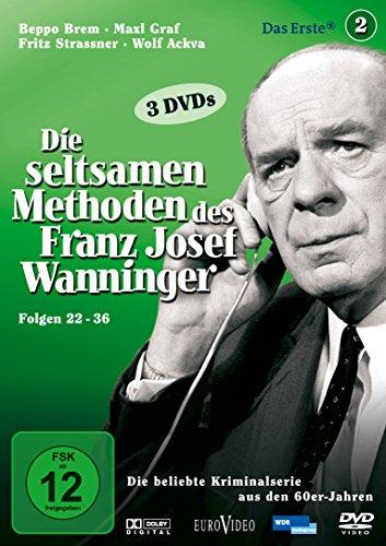 Die seltsamen Methoden des Franz Josef Wanninger, Folgen 22-36 [3 DVDs]