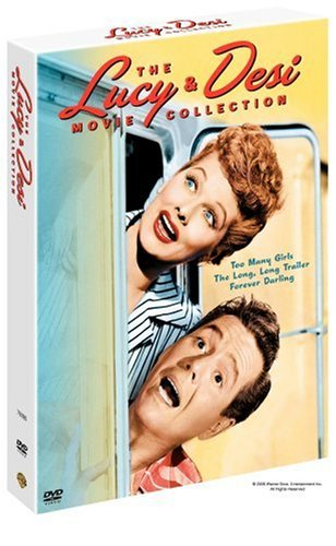 Cover art for  The Lucy &amp; Desi Collection (Too Many Girls / The Long Long Trailer / Forever, Darling)