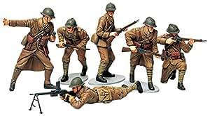Tamiya Models Tamiya Models French Infantry Set