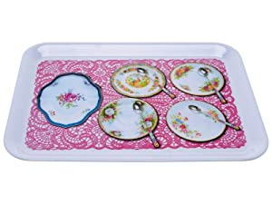 Present Time High Tea Photo Print Melamine Serving Tray