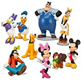 Mickey Mouse Clubhouse Figure Deluxe 10-Piece Play Set