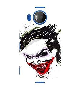 EPICCASE Joker Laugh Mobile Back Case Cover For Microsoft Lumia 950 XL (Designer Case)