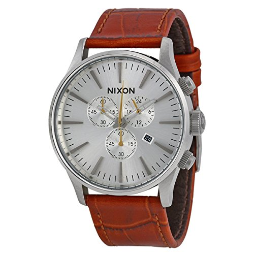 nixon-mens-sentry-quartz-stainless-steel-and-leather-casual-watch-colorbrown-model-a405-1888