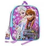 Disney Frozen Princess Elsa Sparkle Backpack, Large 15 School Bag, New Licensed Design