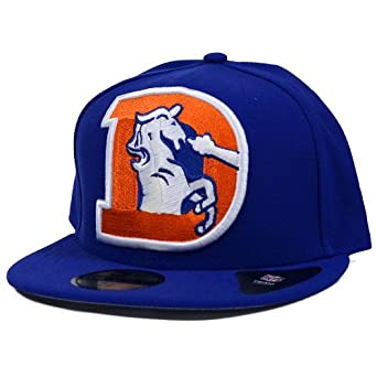 Denver Broncos New Era Mighty Player Fitted Hat by New Era