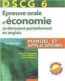 echange, troc François Coulomb, Jean Longatte, Pascal Vanhove - Epreuve orale d'économie se déroulant partiellement en anglais : DSCG 6