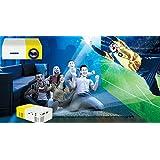 ShopyBucket New YG300-Portable-LED-Projector-Cinema-Theater-PC-Laptop-USB-SD-AV-HDMI-Input-Mini-Pocket-Projector - B072BKGZ5T