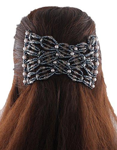 015d24c9b5679 Anuradha Art Gray Colour Stylish Design Beautiful Hair Accessories ...
