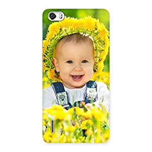 Laughing Baby Girl Back Case Cover for Honor 6