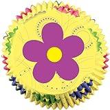 Wilton Dancing Daisy Flower Baking Cups, 50 Count