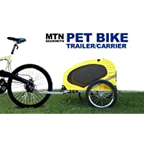 New MTN Gearsmith Deluxe Heavy Duty Bicycle Pet Dog Trailer/Carrier