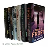 R D Wingfield Jack Frost Series: 6 books - Frost At Christmas / Night Frost / A Touch of Frost / Winter Frost / A Killing Frost / Hard Frost