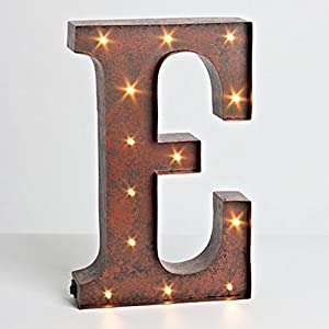 Wall Decor Light Up Letters : 12