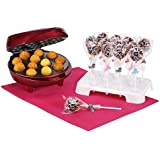 VonShef 12 Cake Pop Maker With 50 Paper Sticks And 12 Hole Stand