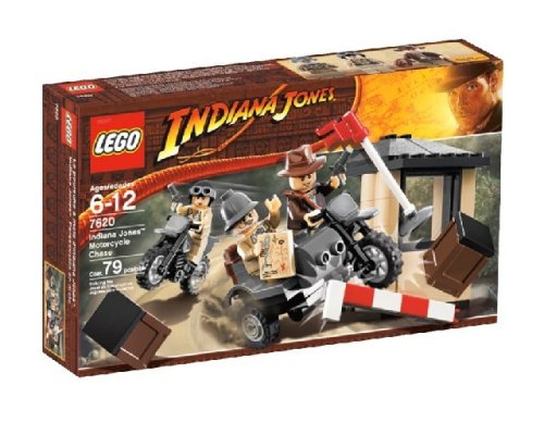 LEGO Indiana Jones Motorcycle Chase Amazon.com