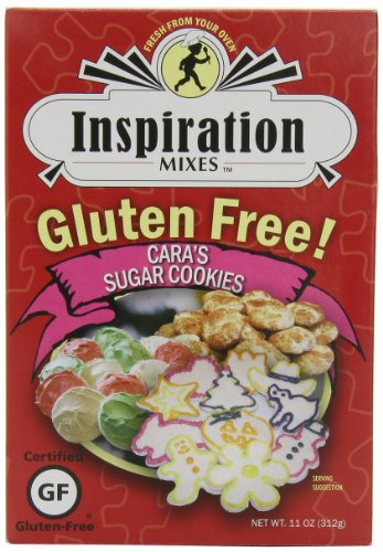 Inspiration MIXES Gluten Free Cara's Sugar Cookie Mix, 13-Ounce (Pack of 6)