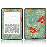 TaylorHe Vinyl Skin Decal for Amazon Kindle Paperwhite Ultra-slim protection for Kindle MADE IN BRITAIN FREE UK DELIVERY Design of Vintage Blue Floral