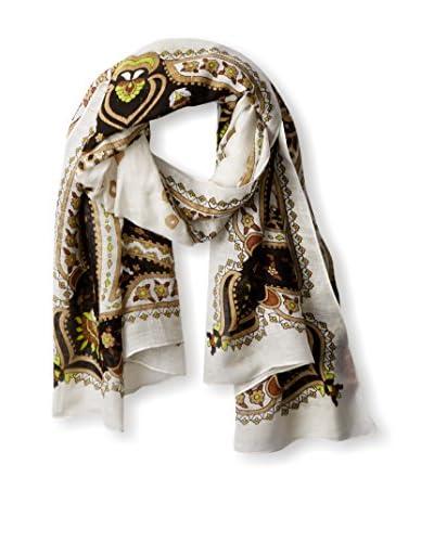 Theodora & Callum Women's Hvar Tie All Scarf, Black/Multi