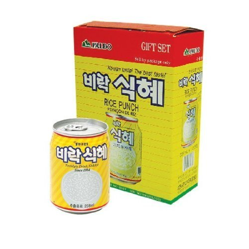 Paldo Rice Punch 238mL X 12 Cans Gift set by Paldo (Paldo Rice Punch compare prices)