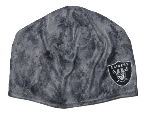 Oakland Raiders NFL Reebok Gray Camo Beanie Hat at Amazon.com