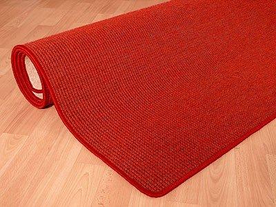 Teppich Bentzon Spezial Flachgewebe Rot in 24 Größen