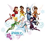 Roommates RMK2058SCS Disney Fairies Secret of the Wings Peel and Stick Wall Decals