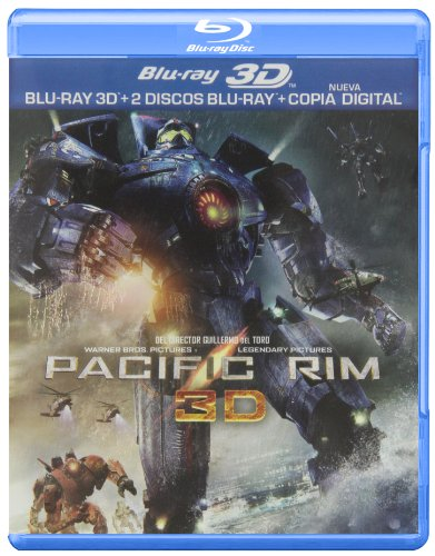Pacific Rim (BD 3D + BD 2D + Copia Digital) [Blu-ray]