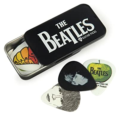 Planet Waves Beatles Signature Guitar Pick Tins