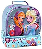 Disney Store Frozen Elsa & Anna Glitter Sparkle Lunch Box Tote