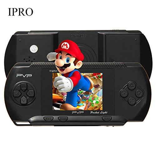 IPRO 2.7 inch PXP II Pocket Games 150 in 1 Game Console 8 Bit Digital Portable Retro Video Game Player for (Video Games For Adults)