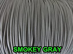 100 FEET 1.4 MM SMOKEY GRAY Professional Grade Braided Nylon Lift Cord For Blinds and Shades