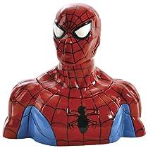 Spider-Man Cookie Jar: Classic Marvel Comic Superhero Kitchen Storage