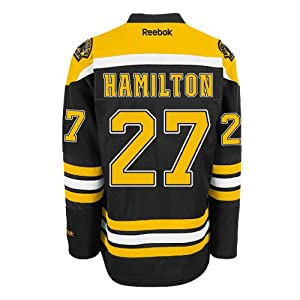 Dougie Hamilton Boston Bruins Reebok Premier Replica Home NHL Hockey Jersey Size L