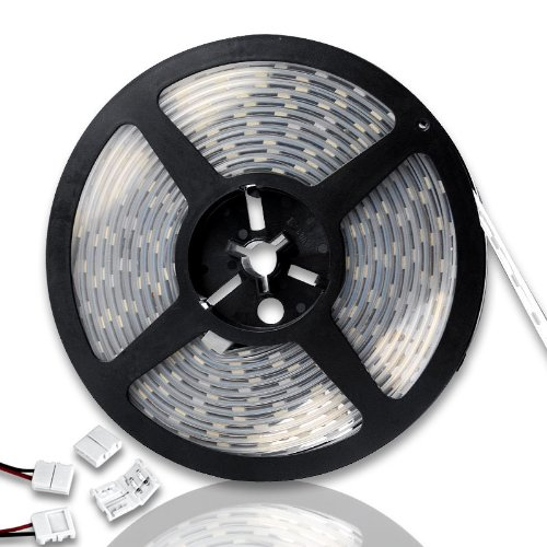 Decorative 16Ft 5M Warm White 5050 Smd 300 Led Strip Rope Light For Fountain Patio Garden Yard Decor front-897780